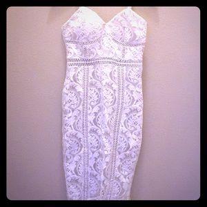Dresses & Skirts - Beautiful & Sexy White Curve Fitting Dress!!🔥😍